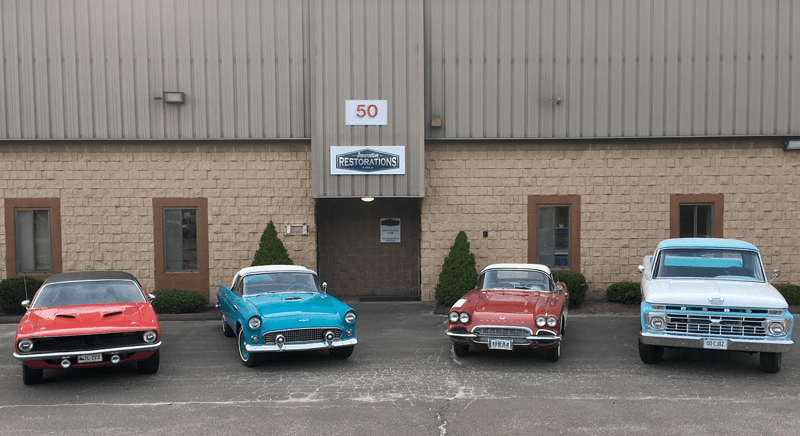 innovative restorations' classic auto repair shop in wallingford ct
