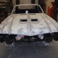 car ready to be repaired