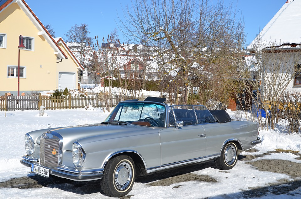 winter classic car