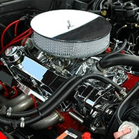 chrome engine parts and accessories